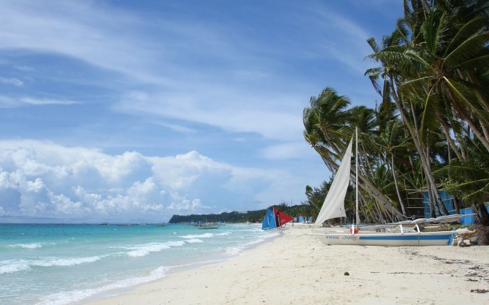 Beach wallpaper - Boracay island