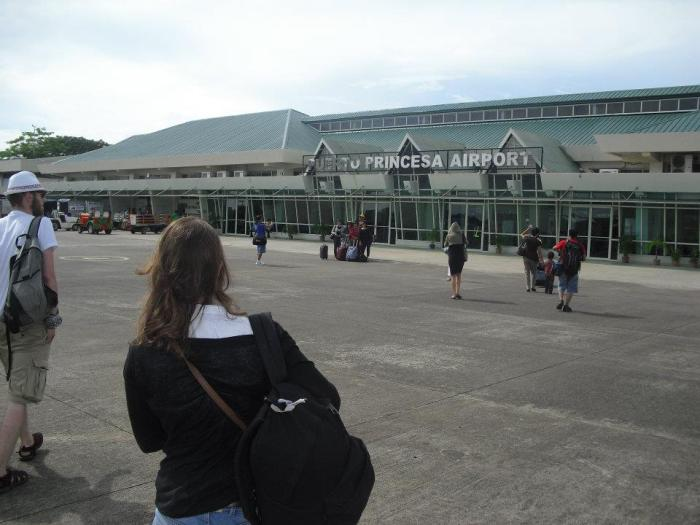 1 aéroport puerto princesa palawan