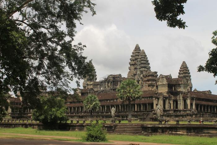 Une autre vue de Angkor Wat