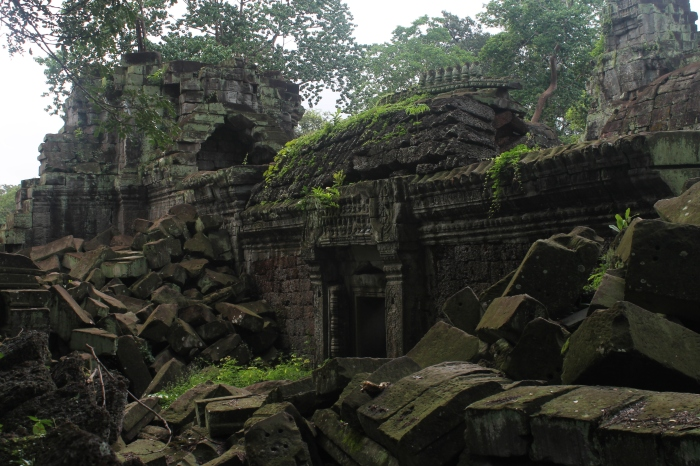 Visite du temple de Preah Khan, on se croirait dans Indiana Jones !
