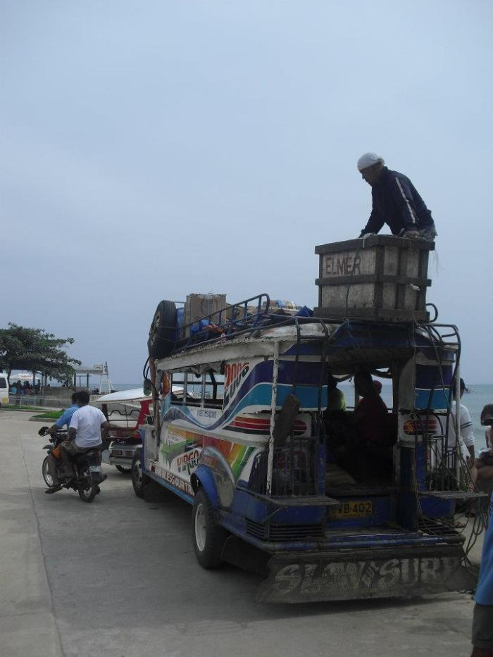 transport entre puerto princesa et sabang
