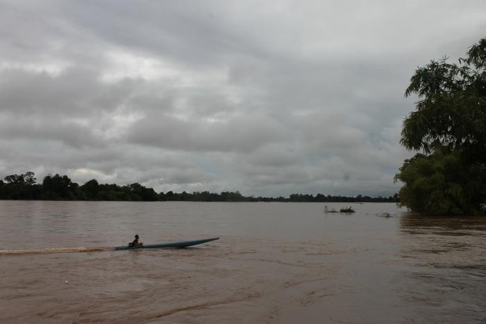 4 vue depuis don det sur le mekong