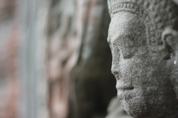 Angkor-statue