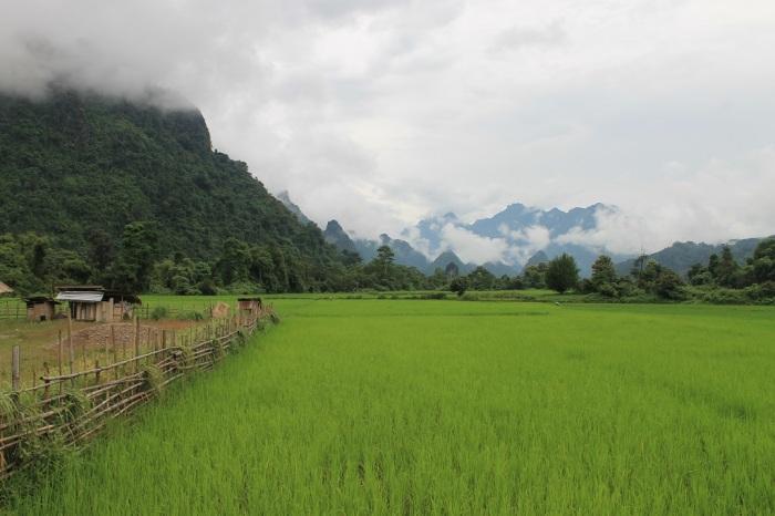 ciel de Vang Vieng