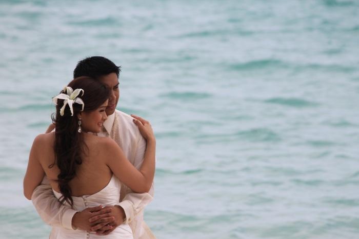 couple Boracay