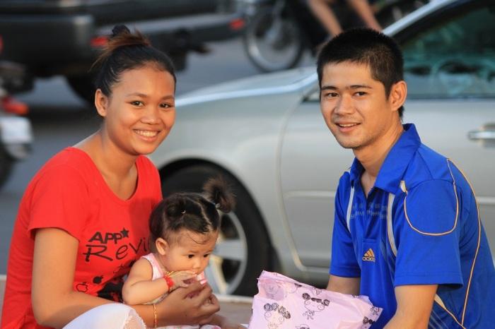 famille à Phnom penh