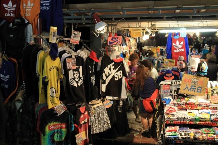 magasin qui vend des vêtements US à Osaka