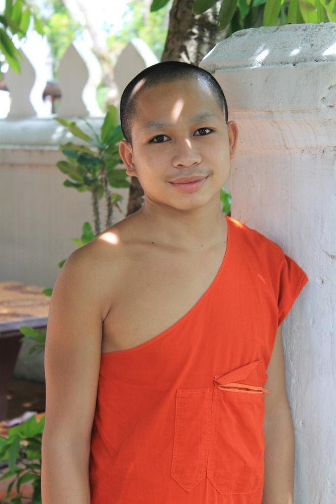 moine à Luang Prabang