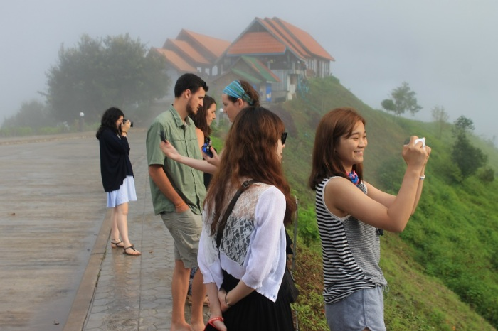 Photos sur la route entre Vang Vieng et Luang Prabang