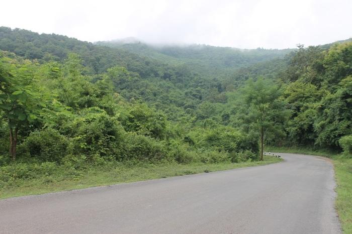 route entre kuangsi et luang prabang
