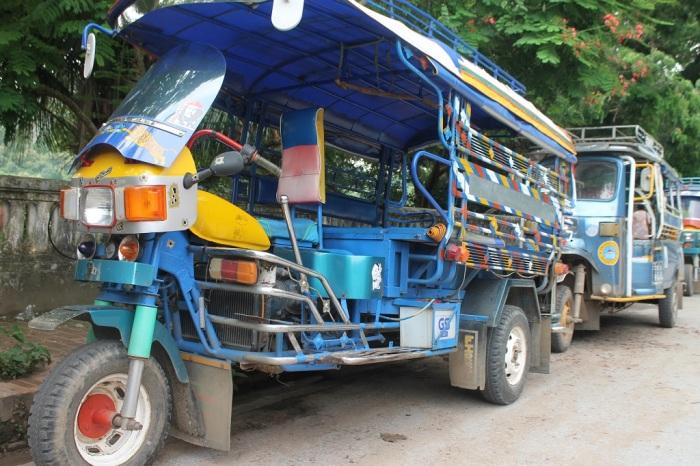 Transports dans Luang Prabang