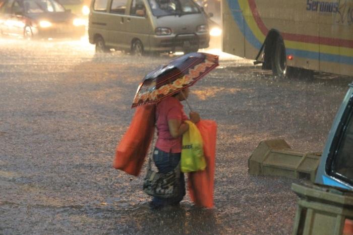 visiter sous la pluie