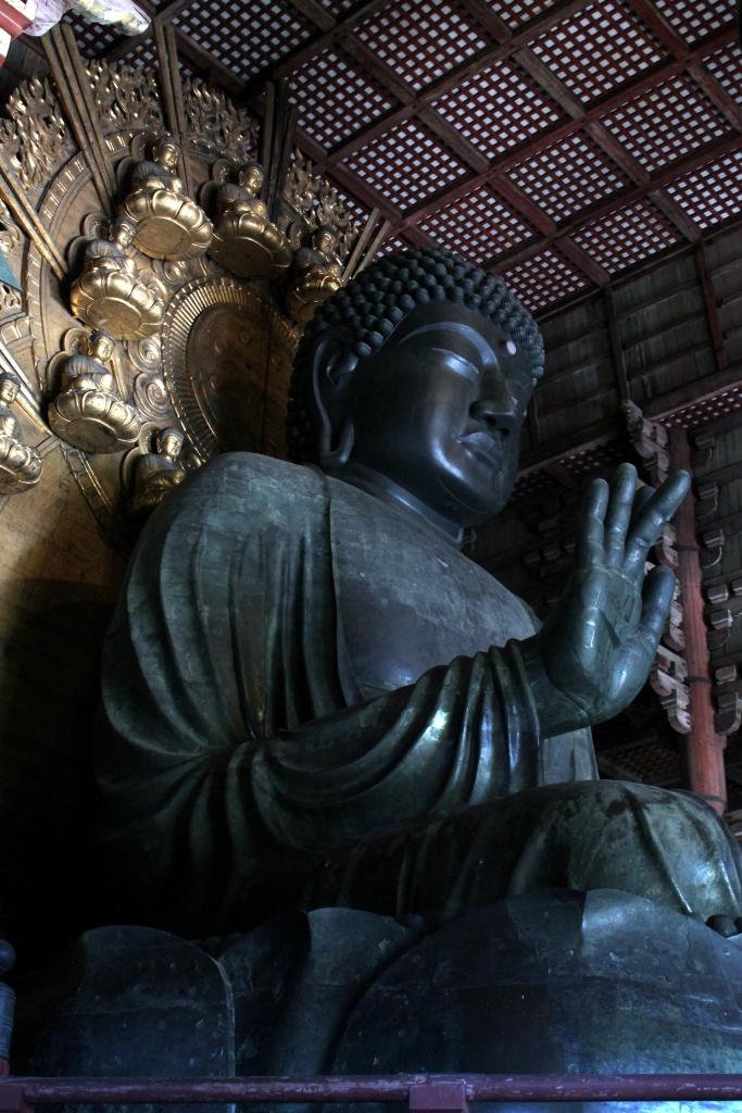 Le grand bouddha de Nara