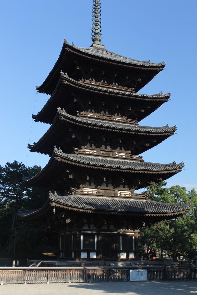 Pagode de Nara, un incontournable à visiter