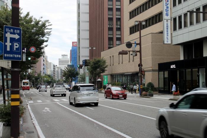 trafic routier dans Kanazawa
