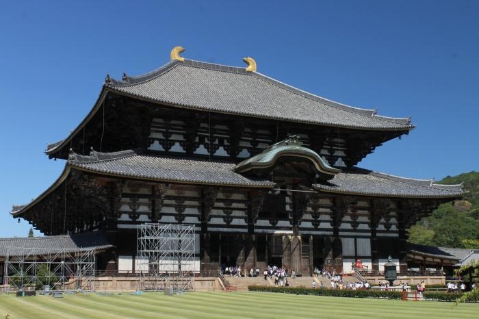 Temple de Todai-Ji à Nara qui abrite le grand bouddha