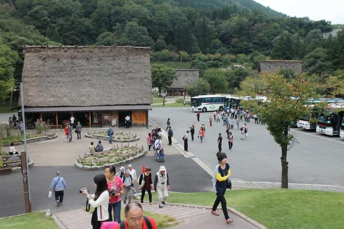 arrivee-shirakawa-go