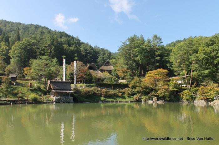 L'entrée du village musée de Takayama