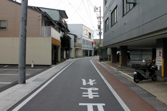 rue de takayama non loin de J-hoppers
