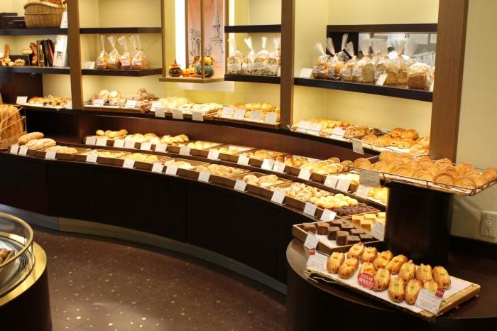 gamme de produit dans la boulangerie